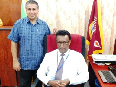 DL meets with Mannar GA